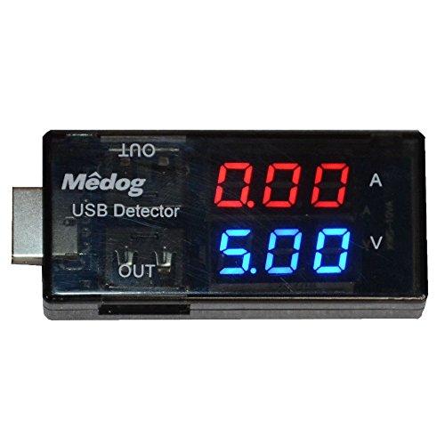 USB meteor Power Meter USB tester Medog Digital Multimeter USB current meter Dc 32-15v 0-3a Volt Amp Both Current and Voltage Transparent Led Ut201503 1