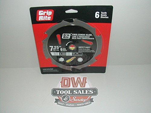 Grip-Rite GRFC7146CT Fiber Cement Carbide Blade 7-14-Inch 6T