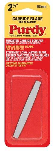 Purdy 140900235 Surface Prep Tool Premium Carbide Scraper Replacement Blades Case of 10 2-12