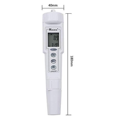 Digital Portable Waterproof PH ORP Meter500 mV Oxidation-Reduction Potential ATC PH Controller Meter