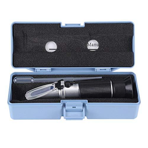 Professional 0~32 Accurate Brix Refractometer Beer Wine Fruit Juice Sugar Tester Meter