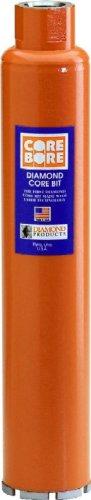 Diamond Products Core Bore 4837 1-18-Inch  Heavy Duty Orange Wet Core Bit