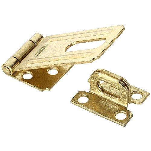 National Hardware N102-293 V30 Safety Hasp in Brass