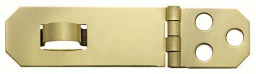 Stanley Hardware 80-3550 Solid Brass Hasp