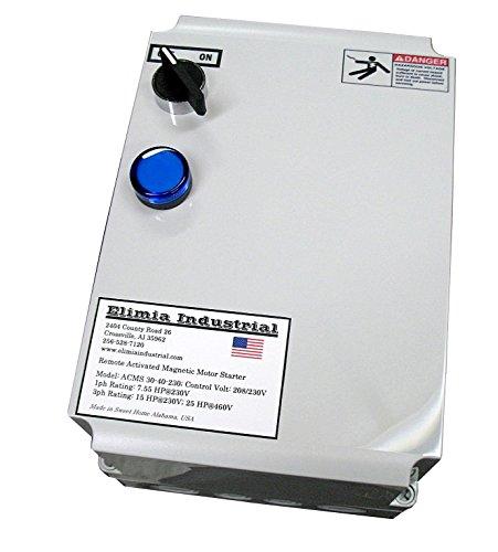 Elimia Air Compressor Motor Starter Heavy Duty 10 HP 230V Nema 4X 23-32 Amp Overload Made in USA