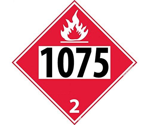 1075 2 Dot Placard Sign
