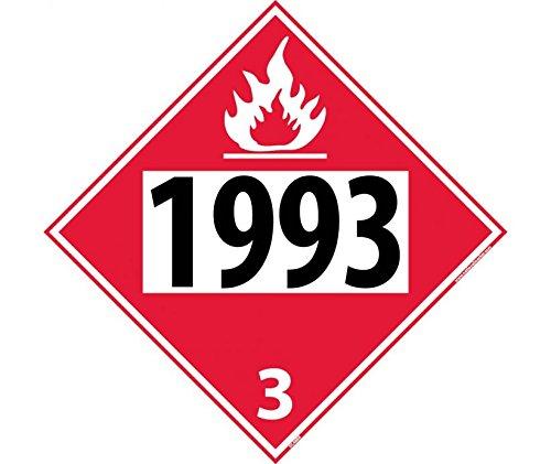 1993 3 Dot Placard Sign