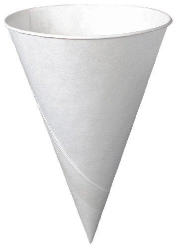 Solo 6r-2050 6 Oz White Cone Paper Cups 200 Count