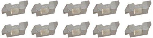 Sandvik Coromant Top Lok Carbide TLR Profiling Insert H13A Grade Uncoated 1 Cutting Edge TLR-3031L 0031 Corner Radius 3 Insert Seat Size Pack of 10