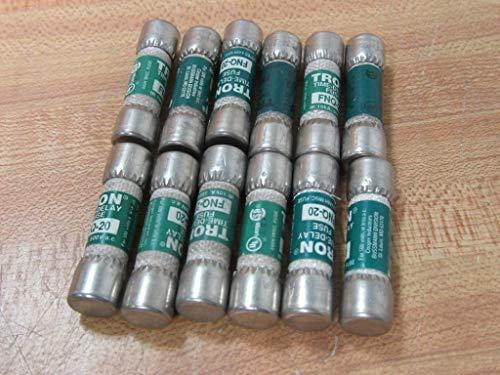 Bussmann FNQ-20 Tron Fuse FNQ20 Pack of 12