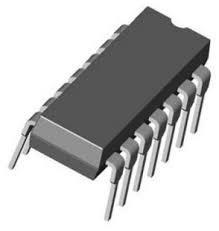 SN74LS04J Integrated Circuits Hex Inverter 14 Pin Ceramic DIP 1 piece