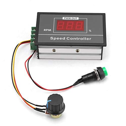 DC 6-60V 12V 24V 36V 48V 30A PWM DC Motor Speed Controller Durable Stepless Speed Regulation Start Stop Switch for Motor
