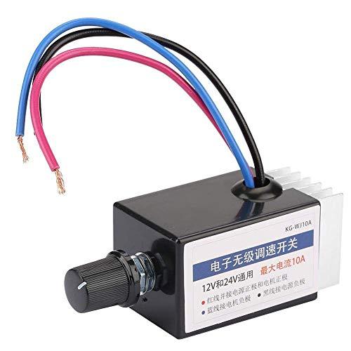 Motor Speed Controller - Universal Motor Speed Controller Switch 12V24V Motor Driver Controls Module DC Motor Speed Controller Switch for Car Truck Fan Heater Control