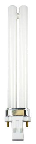 Compact Fluorescent Bulb PLS Shape GX23 Base 13 Watt 7000K CEC Brand 4pack