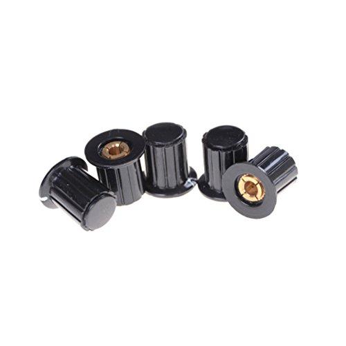 SNNplapla 5-Pack 4MM Split Shaft Potentiometer Control Knobs