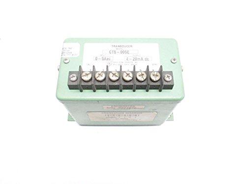 OHIO SEMITRONICS CT5-005E 0-5AAC 4-20MA DC TRANSDUCER D498536