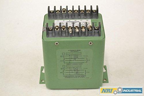 OHIO SEMITRONICS PC5-054E2 POWER TRANSDUCER 600V-AC 0-40KW 0-50A AMP B308435