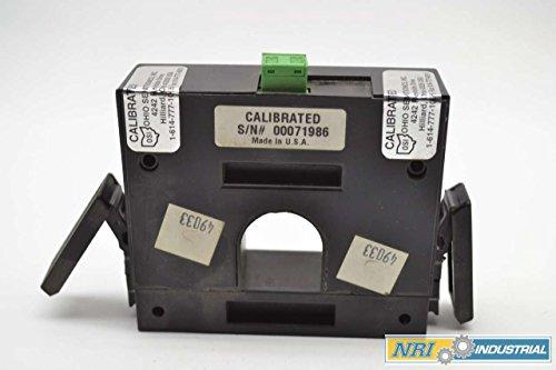 OHIO SEMITRONICS SCT-300E2 0-300A AMP AC LOOP POWER CURRENT TRANSDUCER B407183