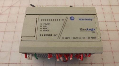 Allen Bradley MicroLogix 1000 1761-L16BWA PLC Module T31619