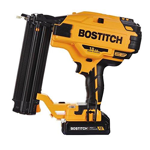 BOSTITCH 20V MAX Cordless Brad Nailer Kit 18GA BCN680D1
