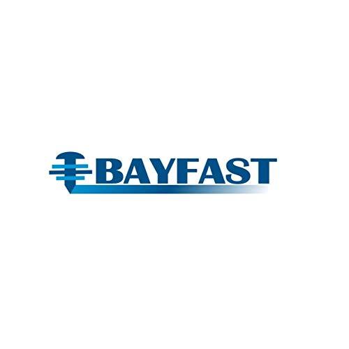 TA2501000M Bayfast Tapit Nylon Drive Rivet 14 X 100 Mushroom HD WSteel Drive Pin 100 PK