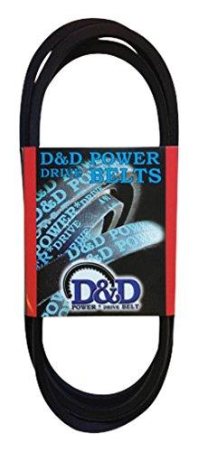D&D PowerDrive B193 Woods Equipment Replacement Belt  B5L  1 -Band 196 Length Rubber