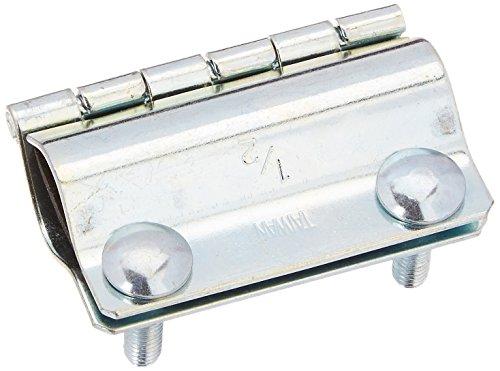 LDR 510 2110 Heavy Gauge Galvanized Steel Pipe Repair Clamps 12-Inch IPS