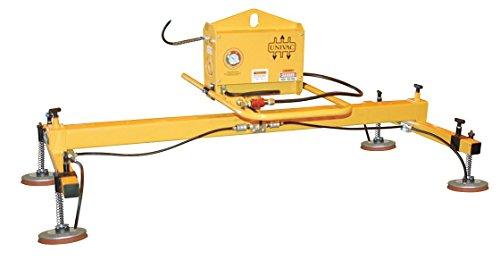 The Caldwell Group - DE24V105D3 - Vacuum Lifters Horizontal Max Lift Load Cap Lb 2400 Number of Pads 4 12-14