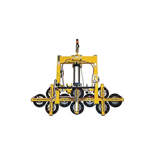 Woods Powr-Grip - PT10FS10TAIR - Vacuum Lifter 90 Tilt Max Lift Load Cap Lb 1500 Number of Pads 10 10
