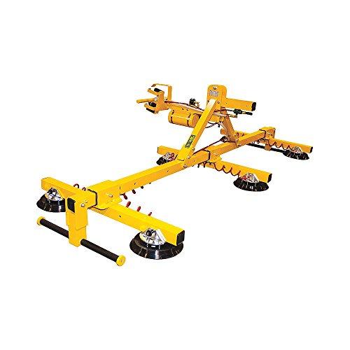 Woods Powr-Grip - FLEXRL6HV11AC - Vacuum Lifter Horizontal Max Lift Load Cap Lb 1200 Number of Pads 6 10