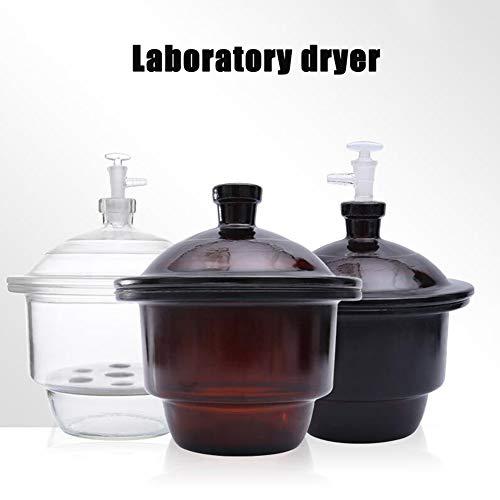 LAB2 150 Lab Dessicator Dryer180mm Glass Desiccator Jar