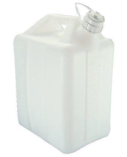 Nalgene Natural High-Density Polyethylene Jerricans 10L Capacity 246mm L x 199mm W Case of 6