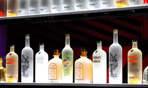 Armana Productions 35 Wireless Controlled LED Bottle Shelf