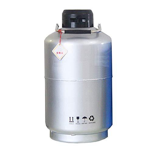 BAOSHISHAN 2L Liquid Nitrogen Container Storage Type Cryogenic Container Tank Mouth Diameter 30mm 2L