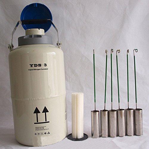 Liquor New 315 L Cryogenic Container Liquid Nitrogen Tank with Straps Portable