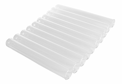 SEOH 10 Pack of Test Tube Borosilicate Glass 16 x 150MM