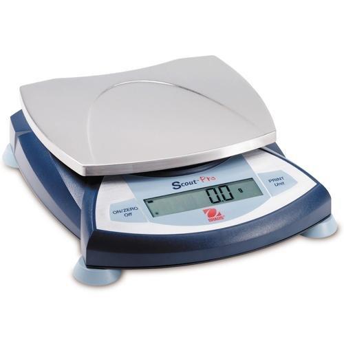Ohaus Scout Pro Portable Electronic Balance 4000g Capacity 01g Readability