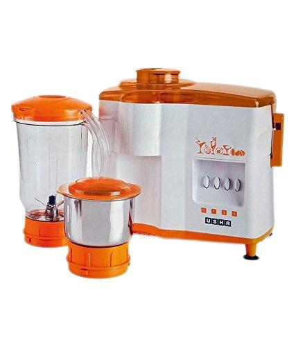 Usha Jmg 3442 Popular Juicer Mixer Grinder Orange