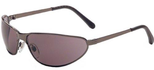 SPERIAN PROTECTION AMERICAS S2451 Tomcat Safety Glasses Gun Metal Frame Gray Lens