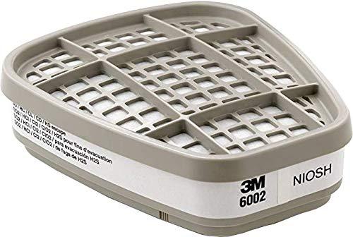 3M 6000 Series GasVapour Respirator Cartridges 6002 Acid Gas - 2 Count