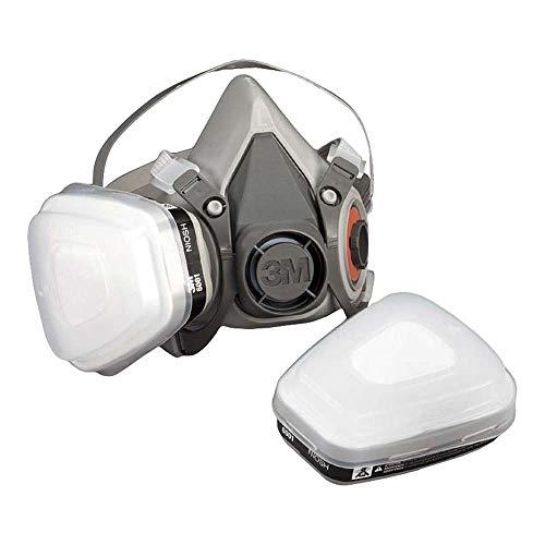 3M 6000 Series Half Mask Reusable RespiratorDust Gas Mask - 6200Medium