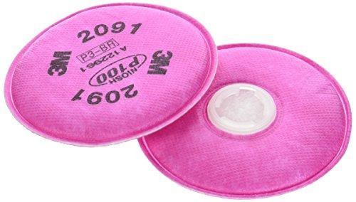 6000 Series Respirator 2091 P100 Filter By 3m Marine Trades
