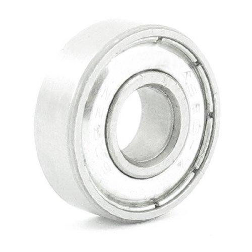 Uxcell s14081600am0640 608ZZ Metallic Sealed Deep Groove Ball Bearing 22mm x 8mm x 7mm 03 Metal