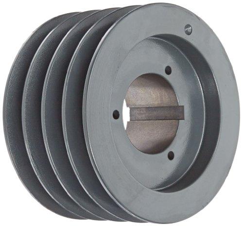 Browning 4TC70 Split Taper Sheave Cast Iron 4 Groove C Belt Uses Q2 Bushing