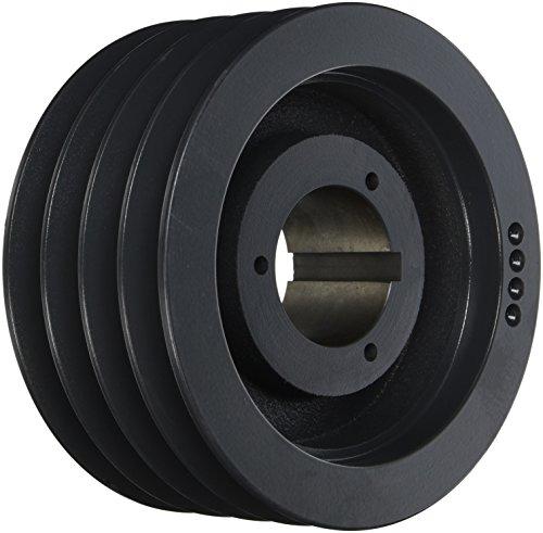 Browning 4TC84 Split Taper Sheave Cast Iron 4 Groove C Belt Uses Q2 Bushing