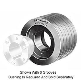 Browning 5TC80 Split Taper Sheave Cast Iron 5 Groove C Belt Uses Q2 Bushing