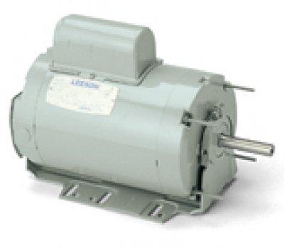Leeson Electric 11134800 33HP 1625RPM 1PH 115V230V 56HY Frame Special Flange Flange Footless TENV Farm Duty Motor