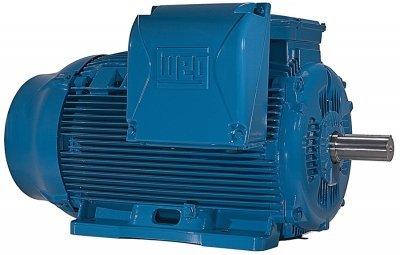 Weg Electric 20012ET3GKD505Z-W22 200HP 1200 RPM 3PH 460V 5045Z Frame Special Flange Foot Mount TEFC General Purpose Motor
