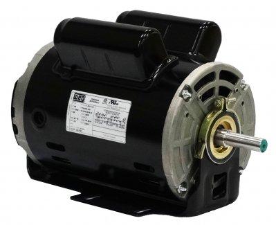 Weg Electric 2518OS1BSPRBO48Z-S 025HP 1800 RPM 1PH 110-120V208V230V 48Z Frame Special Flange Footless Open General Purpose Motor