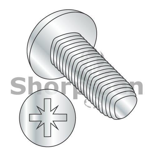 Din 7500 C Metric Type Z Pan Thread Rolling Screw Zinc and Baked And Wax M2-04 x 6 BC-M26D7500C Box of 4000 weight 176 Lbs